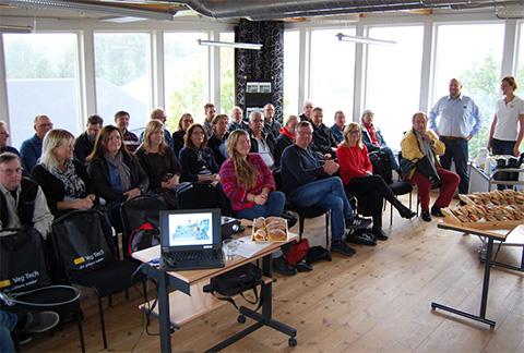 Besök av Växjö kommun