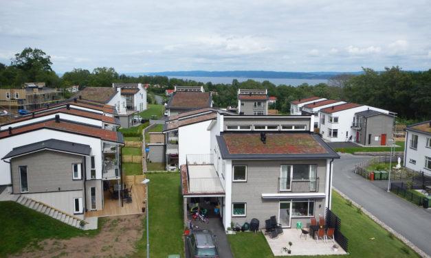 Nytt bostadsområde utanför bankeryd