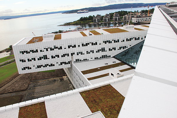 Statoil sedumtak i Oslo