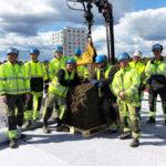 Kalmars hittills största sedumtak är på plats!